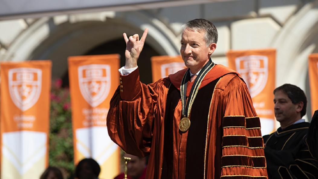 30th UT Austin President, Jay Hartzell